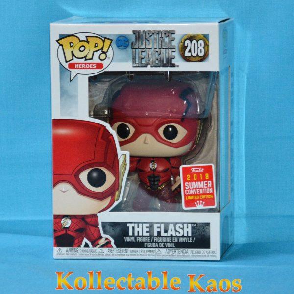 FUN32331 The Flash 1 600x600 - SDCC 2018 - Justice League Movie - Flash Running Translucent Feet Pop! Vinyl Figure (RS) #208