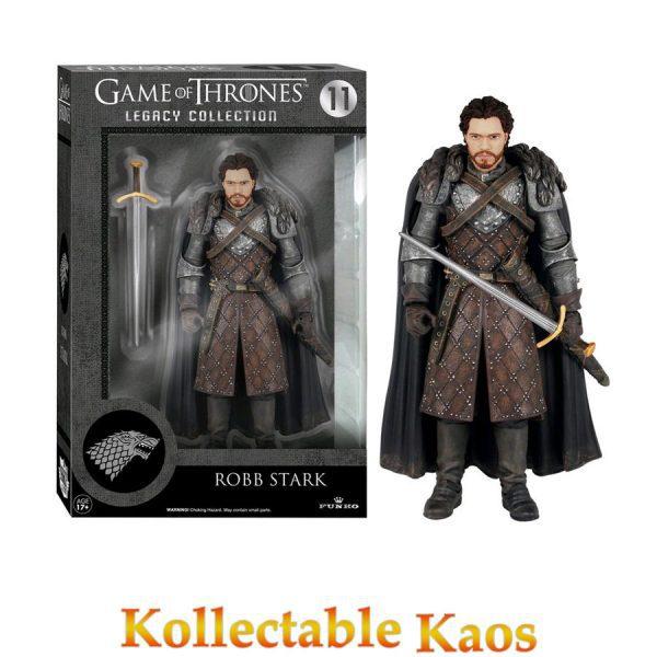 FUN4110 Robb Stark Legacy 600x600 - Game of Thrones - Series 2 - Robb Stark 15cm Legacy Action Figure