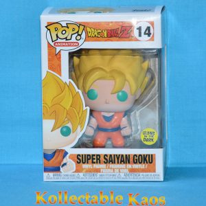 FUN5040 Dragonball Z Glow SS Goku Pop 1 300x300 - Dragon Ball Z - Super Saiyan Goku Glow Pop! Vinyl Figure #14