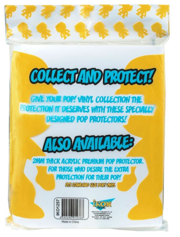IKO1257 Pop Protector 10pk composite 2 600x789 - Ikon Collectables - Pop! Protector - PET .35mm Box 10-pack