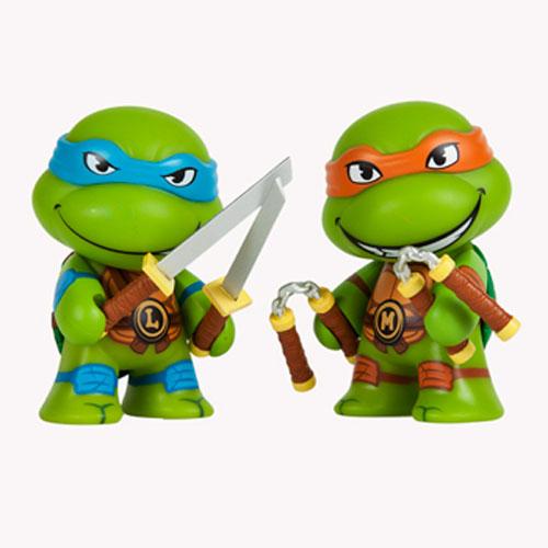 KIDTKLCG007 ninja turtles blind box kid robot 2 - Teenage Mutant Ninja Turtles - 7.5cm Mini Vinyl Blind Box(Display of 20)