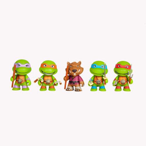 KIDTKLCG007 ninja turtles blind box kid robot 3 - Teenage Mutant Ninja Turtles - 7.5cm Mini Vinyl Blind Box(Display of 20)
