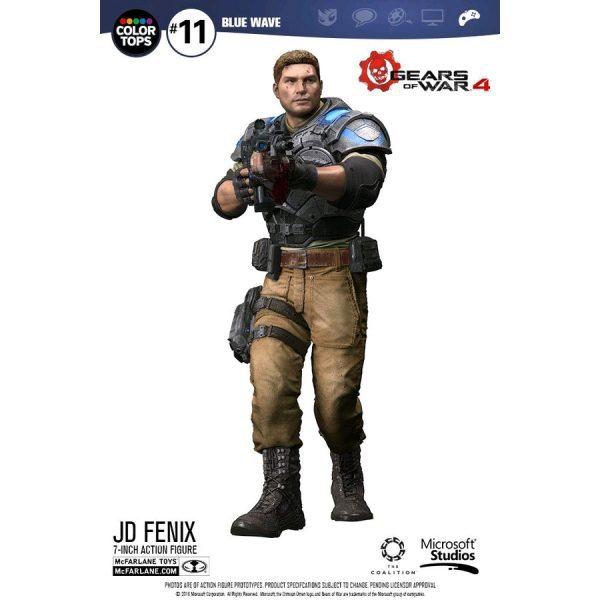 MCF12005 Gears of War 4 JD Fenix Action Figure 1 600x600 - Gears of War 4 - JD Fenix 17.5cm Colour Tops Action Figure