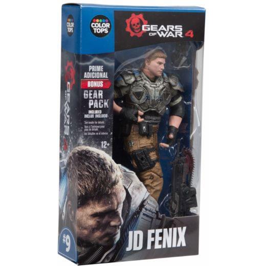 MCF12005 Gears of War 4 JD Fenix Action Figure 3 - Gears of War 4 - JD Fenix 17.5cm Colour Tops Action Figure