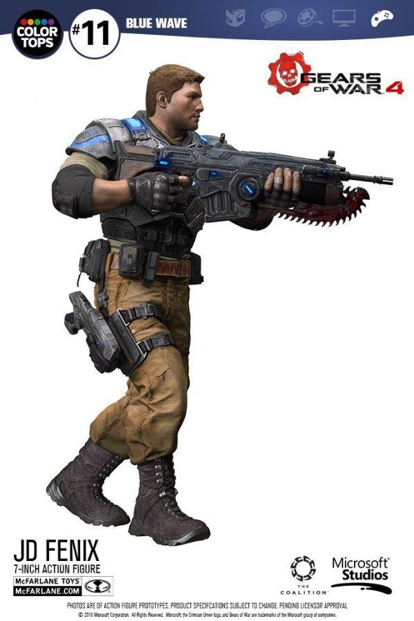 MCF12005 Gears of War 4 JD Fenix Action Figure 4 600x900 - Gears of War 4 - JD Fenix 17.5cm Colour Tops Action Figure