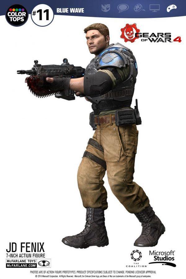 MCF12005 Gears of War 4 JD Fenix Action Figure 5 600x900 - Gears of War 4 - JD Fenix 17.5cm Colour Tops Action Figure