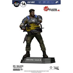 MCF12008 Gears of War 4 Del Walker Figure 300x300 - Gears of War 4 - Del Walker 17.5cm Colour Tops Action Figure