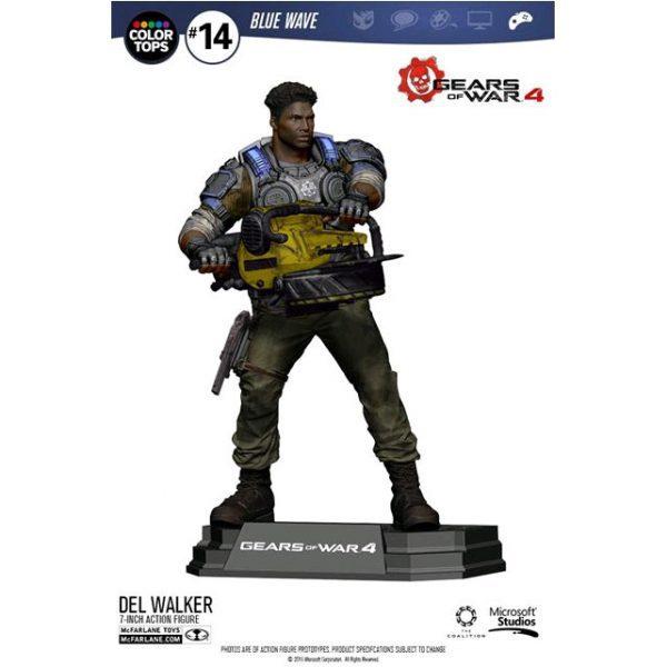 MCF12008 Gears of War 4 Del Walker Figure 600x600 - Gears of War 4 - Del Walker 17.5cm Colour Tops Action Figure