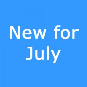 New for July