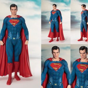SV216 Superman 300x300 - Justice League Movie - Superman ArtFX+ Statue