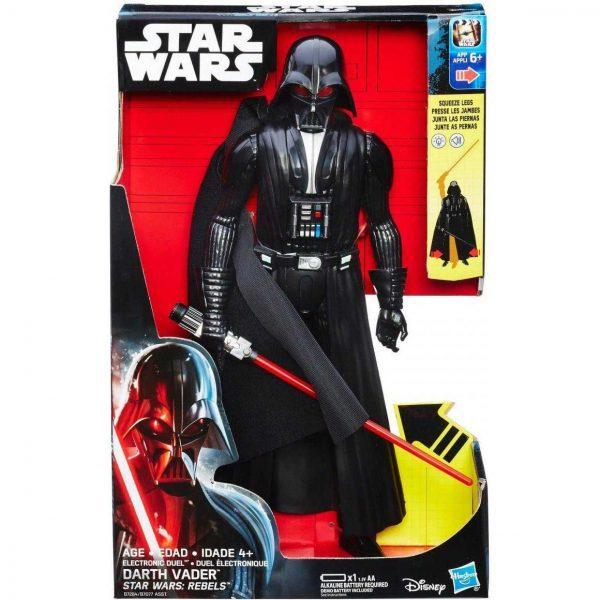 Starwar darth vader b7077 b7284 600x600 - Star Wars Rebels - Electronic Duel 30cm Action Figure - Darth Vader
