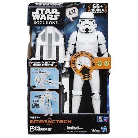 Starwars Stormtrooper B7098 2 - Star Wars: Rogue One - Interactech Imperial Stormtrooper 30cm Figure