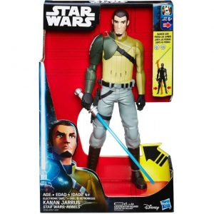 Starwars kanan jarrus b7077 b7285 300x300 - Star Wars Rebels - Electronic Duel 30cm Action Figure - Kanan Jarrus