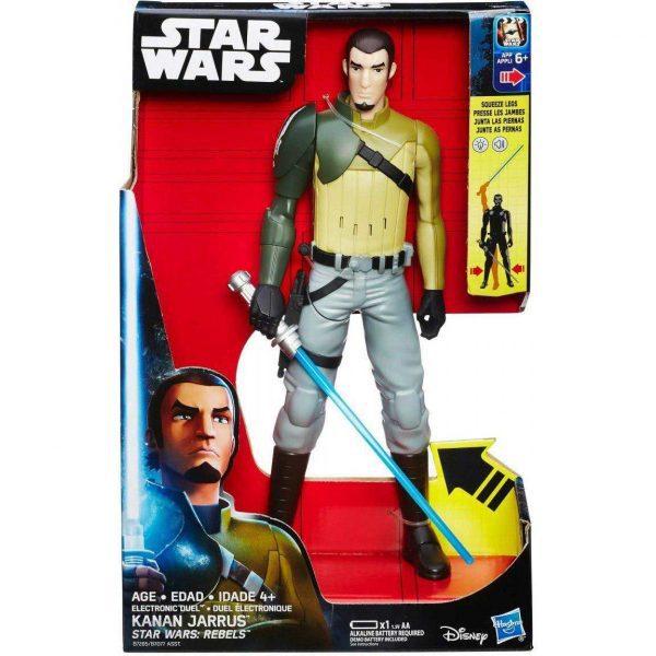 Starwars kanan jarrus b7077 b7285 600x600 - Star Wars Rebels - Electronic Duel 30cm Action Figure - Kanan Jarrus
