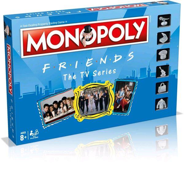WIN003609 Friends Monopoly 1 600x554 - Monopoly - Friends Edition