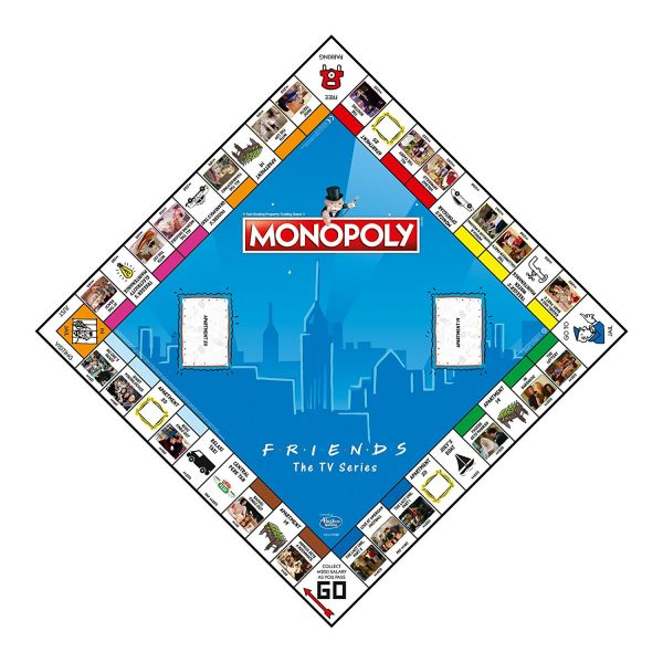 WIN003609 Friends Monopoly 2 1 600x600 - Monopoly - Friends Edition