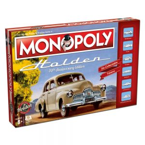 WMA003289 Monopoly Holden Heritage 300x300 - Monopoly - Holden Heritage Edition