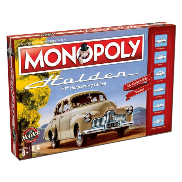 WMA003289 Monopoly Holden Heritage 600x600 - Monopoly - Holden Heritage Edition