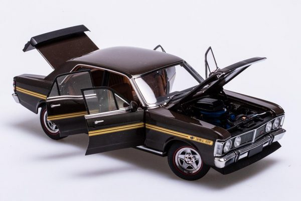 A72755 Ford XY Royal Umber 2 600x400 - 1:18 Ford XY Falcon GTHO Phase III - Royal Umber(Pre order)