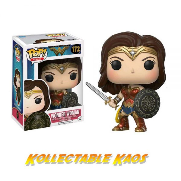 FUN12545 WW Movie Wonder Womamjpg 600x600 - Wonder Woman Movie - Wonder Woman Pop! Vinyl Figure #172