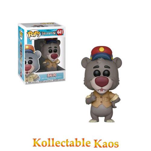 FUN32084 TaleSpin Baloo Pop - TaleSpin - Baloo Pop! Vinyl Figure #441