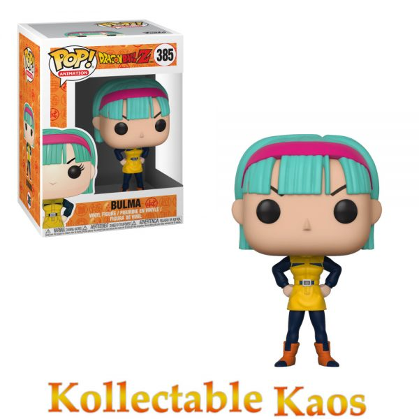 FUN32247 Dragon Ball Z Bulma Yellow Pop 600x600 - Dragon Ball Z - Bulma in Yellow Outfit Pop! Vinyl Figure #385