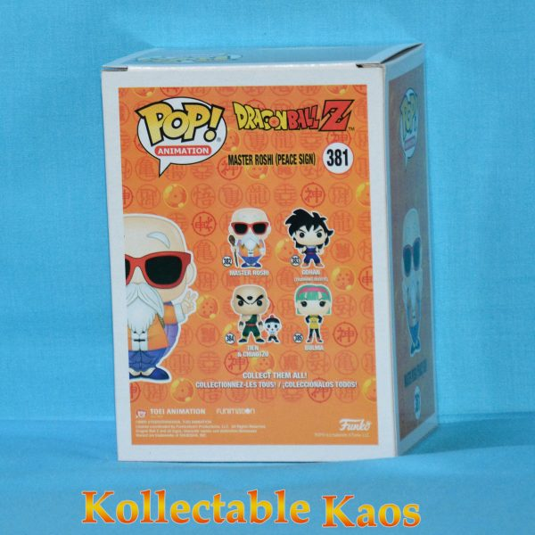 FUN32499 DBZ Master Roshi Peace Sign Pop 2 600x600 - Dragon Ball Z - Master Roshi Peace Sign Pop! Vinyl Figure (RS) #381