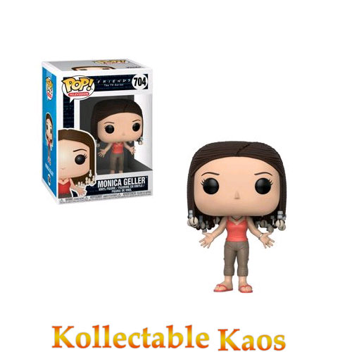 FUN32748 Friends Monica Pop - Friends - Monica Geller with Braids Pop! Vinyl Figure #704
