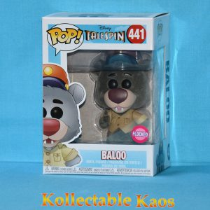 FUN33097 Talespin Baloo FL Pop 1 300x300 - TaleSpin - Baloo Flocked Pop! Vinyl Figure (RS) #441