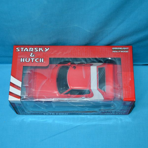 1:24 Greenlight - Starsky & Hutch 1976 Ford Gran Torino Movie Car