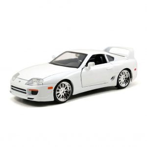 JA97375 FF Toyota Supra White 300x300 - 1:24 Jada - F&F Brians Toyota Supra Gloss White - Fast n Furious