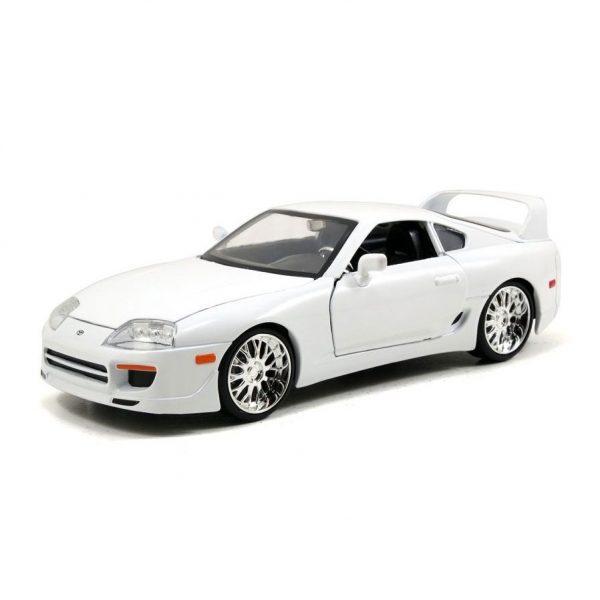 1:24 Jada - F&F Brians Toyota Supra Gloss White - Fast n Furious