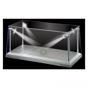 KIC9922 Display Case Silver