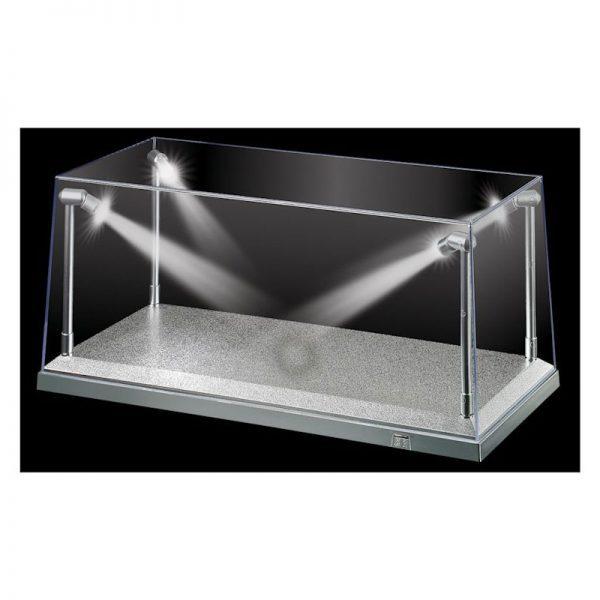 KIC9922 Display Case Silver