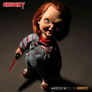 MEZ78002 Childs Play Good Guy Chucky Doll 1 300x300 - Child's Play - Good Guy Chucky 38cm Talking Action Figure