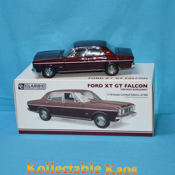 1:18 Ford XT GT Falcon - Vintage Burgundy