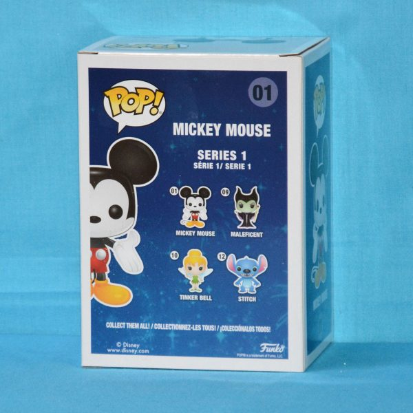 FUN29174 Mickey Mouse Gold Pop 2 600x600 - Disney - Mickey Mouse Gold Diamond Glitter Pop! Vinyl Figure (RS) #01 + Protector