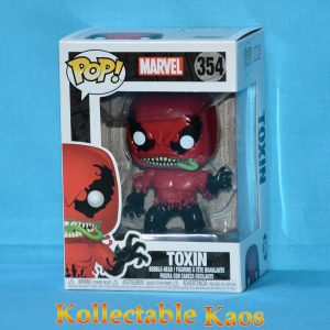 FUN29757 Marvel Toxin Pop 1 300x300 - Spider-Man - Toxin Pop! Vinyl Figure #354