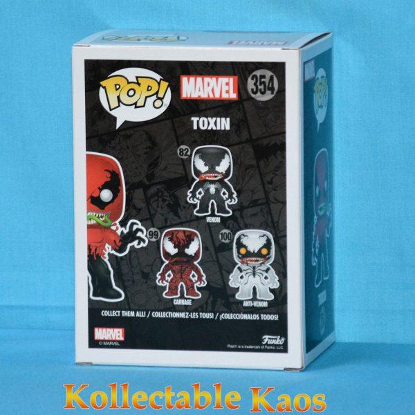 FUN29757 Marvel Toxin Pop 2 600x600 - Spider-Man - Toxin Pop! Vinyl Figure #354