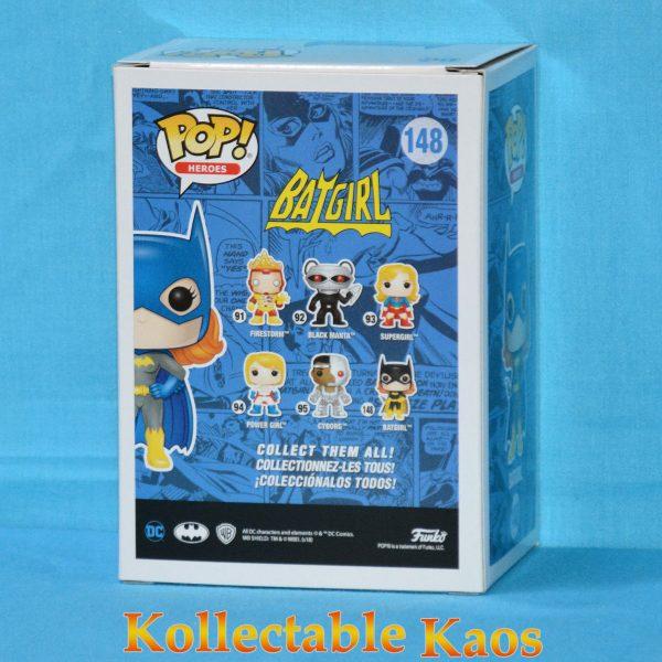 FUN30098 Batgirl DG Pop 2 600x600 - Batman - Batgirl Diamond Glitter Pop! Vinyl Figure (RS) #148 + Protector