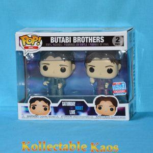 FUN32723 SNL Butabi Bros POP 300x300 - NYCC 2018 - Saturday Night Live - Doug & Steve Butabi Pop! Vinyl Figure 2-Pack (RS)