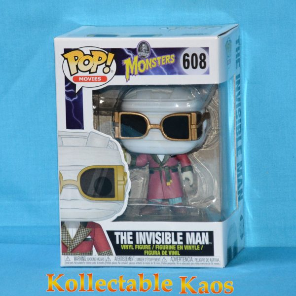 FUN32961 Monsters The InvisibleMan Pop 1 600x600 - Universal Monsters - The Invisible Man Pop! Vinyl Figure (RS) #608
