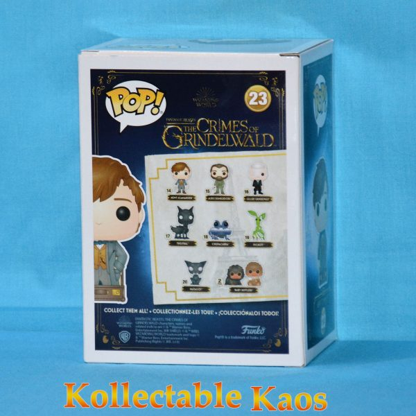 FUN33062 Fantastic Beasts Newt Luggage Pop 2 600x600 - Fantastic Beasts 2: The Crimes Of Grindelwald - Newt Scamander in Suitcase Pop! Vinyl Figure (RS) #23