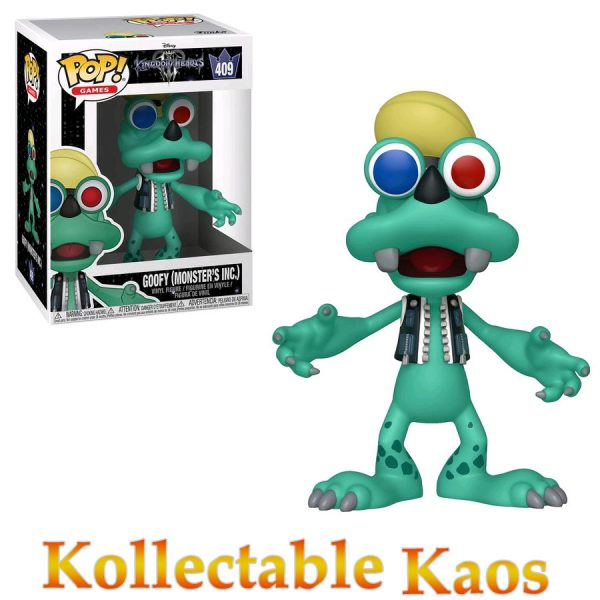 FUN34058 POP Kingdom Hearts Goofy Monsters Inc Pop 600x600 - Kingdom Hearts III - Goofy Monster's Inc. Pop! Vinyl Figure #409