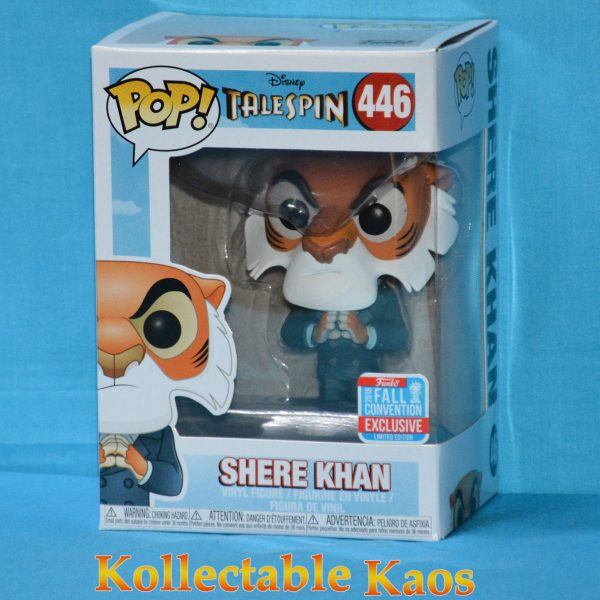 FUN34758 Tale Spin Shere Khan Pop 1 600x600 - NYCC 2018 - TaleSpin - Shere Khan with Hands Together Pop! Vinyl Figure (RS) #446