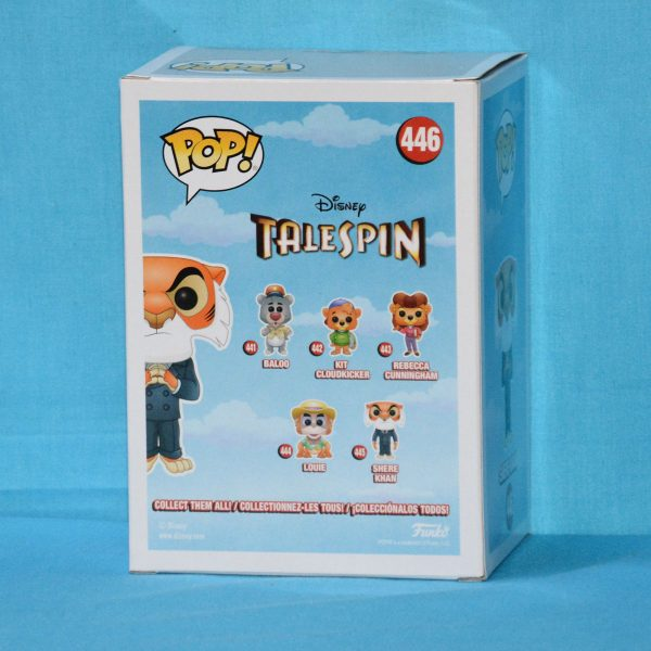 FUN34758 Tale Spin Shere Khan Pop 2 600x600 - NYCC 2018 - TaleSpin - Shere Khan with Hands Together Pop! Vinyl Figure (RS) #446
