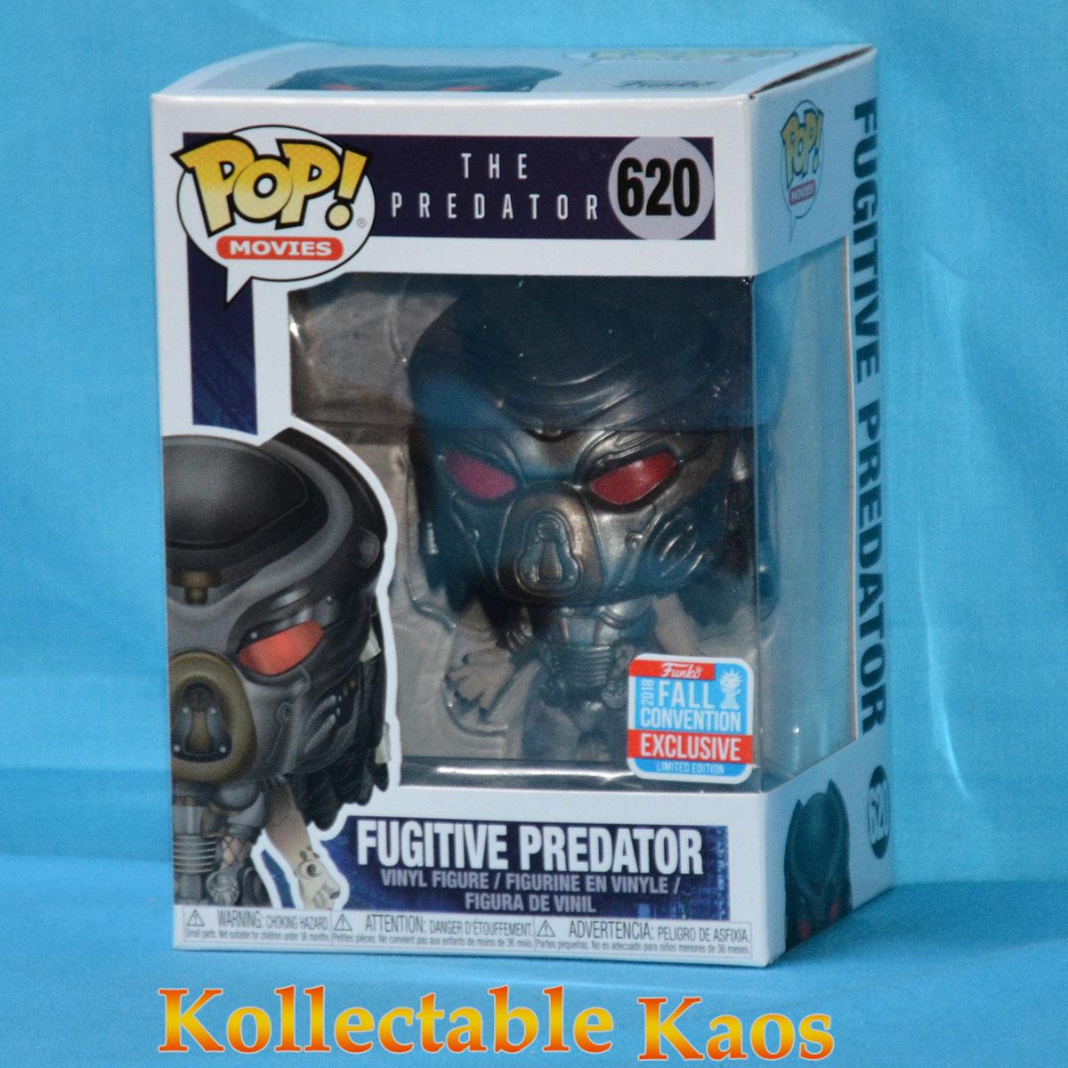 NYCC 2018 Funko Pop Vinyl The Predator Fugitive Predator Translucent Excl NEW
