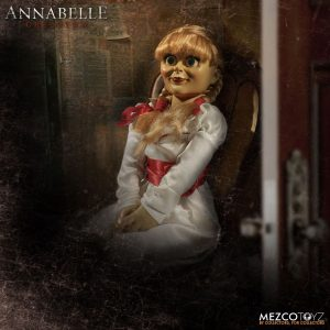 "MEZ90503 Annabelle Creation Annabelle Replica Doll 2 300x300 - Annabelle: Creation - Annabelle 45cm(18"") Prop Replica Doll"