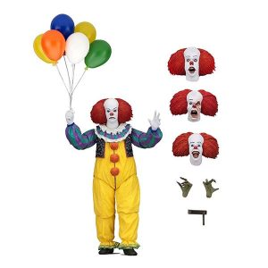 NEC45460 It Pennywise Figure 300x300 - It (1990) - Pennywise Ultimate 17.5cm Action Figure
