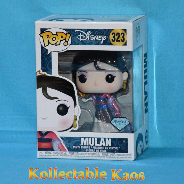 FUN29130 Mulan DGL Pop 1 600x600 - Mulan - Mulan Diamond Glitter Pop! Vinyl Figure (RS) #323